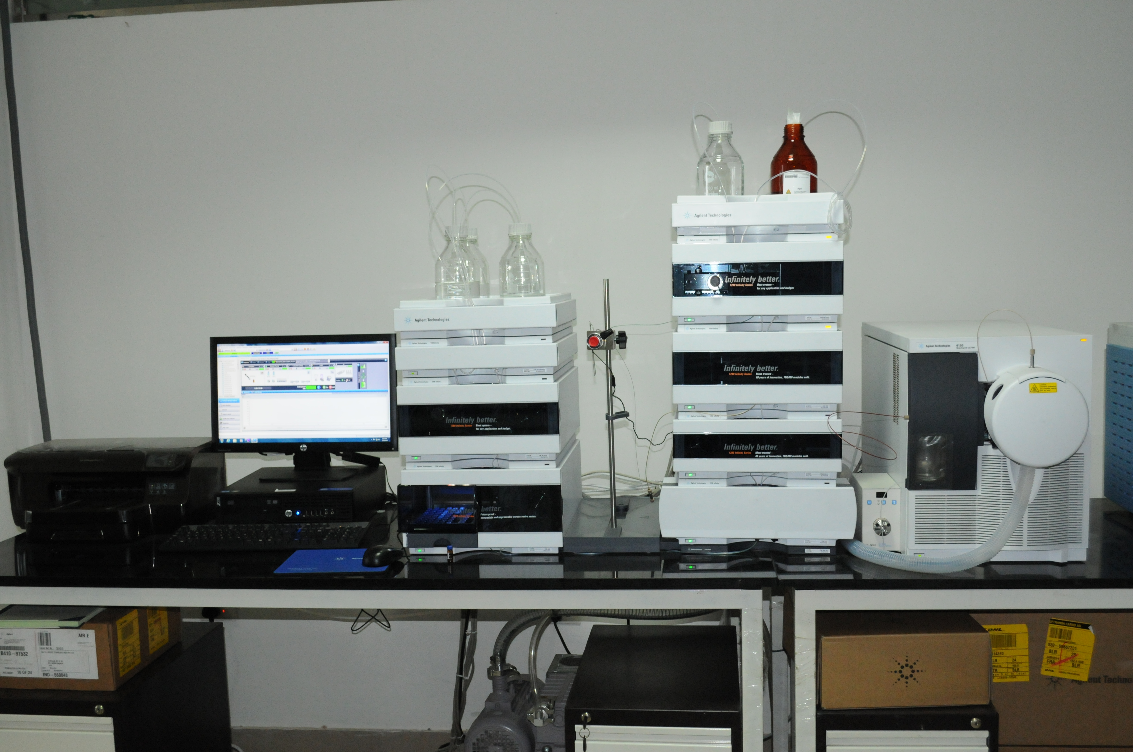 High Performance Liquid chromatography Mass Spectroscopy(HPLC)
