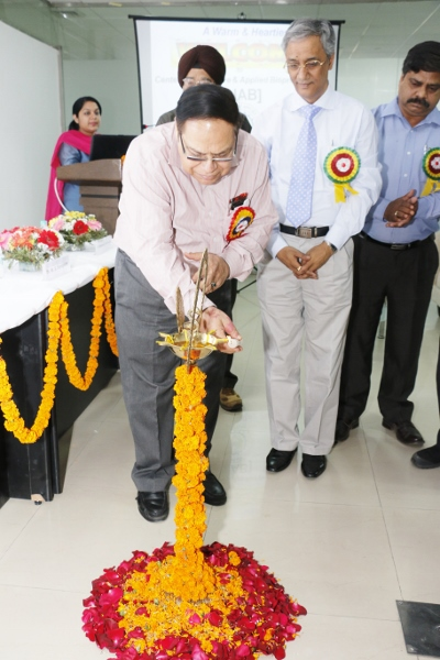 Lamp Lighting by Chief Guest