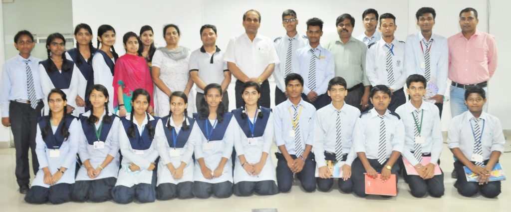 The Acharyas from CIAB and The Learners from JNV, Mohali
