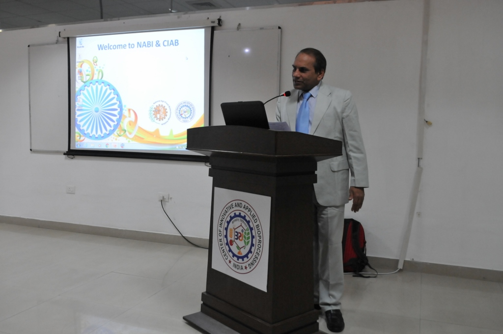 A LECTURE BY PROF. SUBHASH C. MINOCHA ON DECEMBER 16, 2015