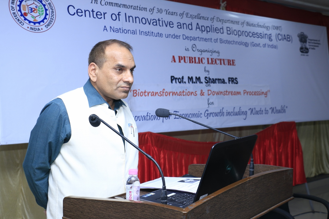Prof. M.M. Sharma Public Lecture on January 11, 2016