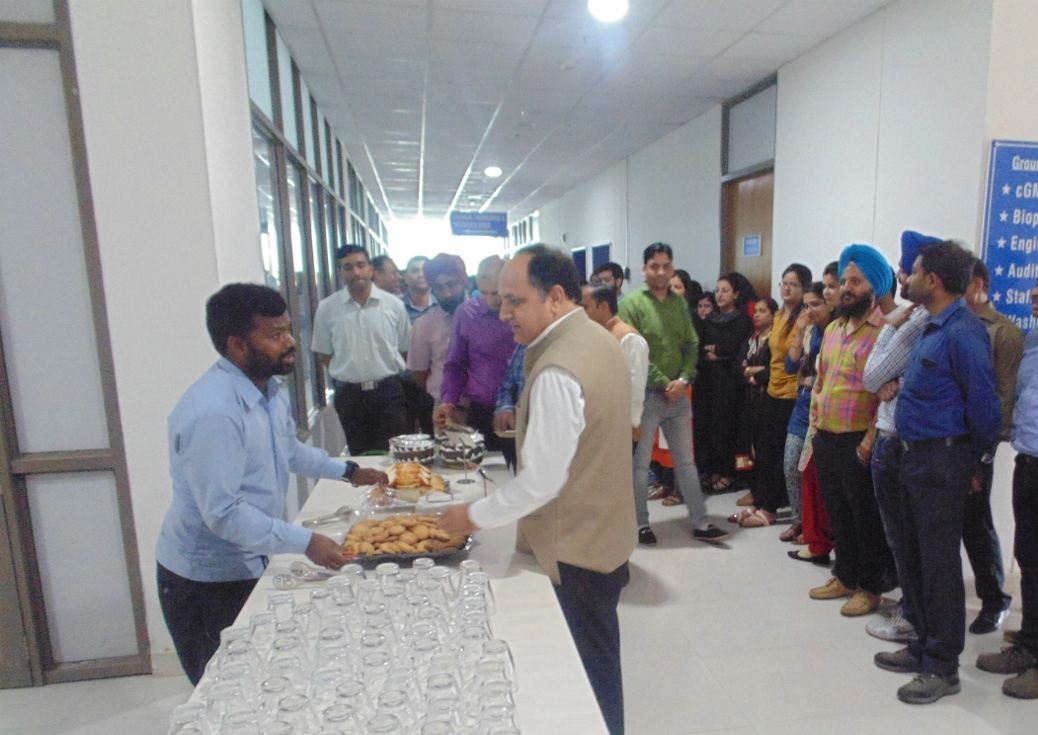 Inauguration of Cafeteria
