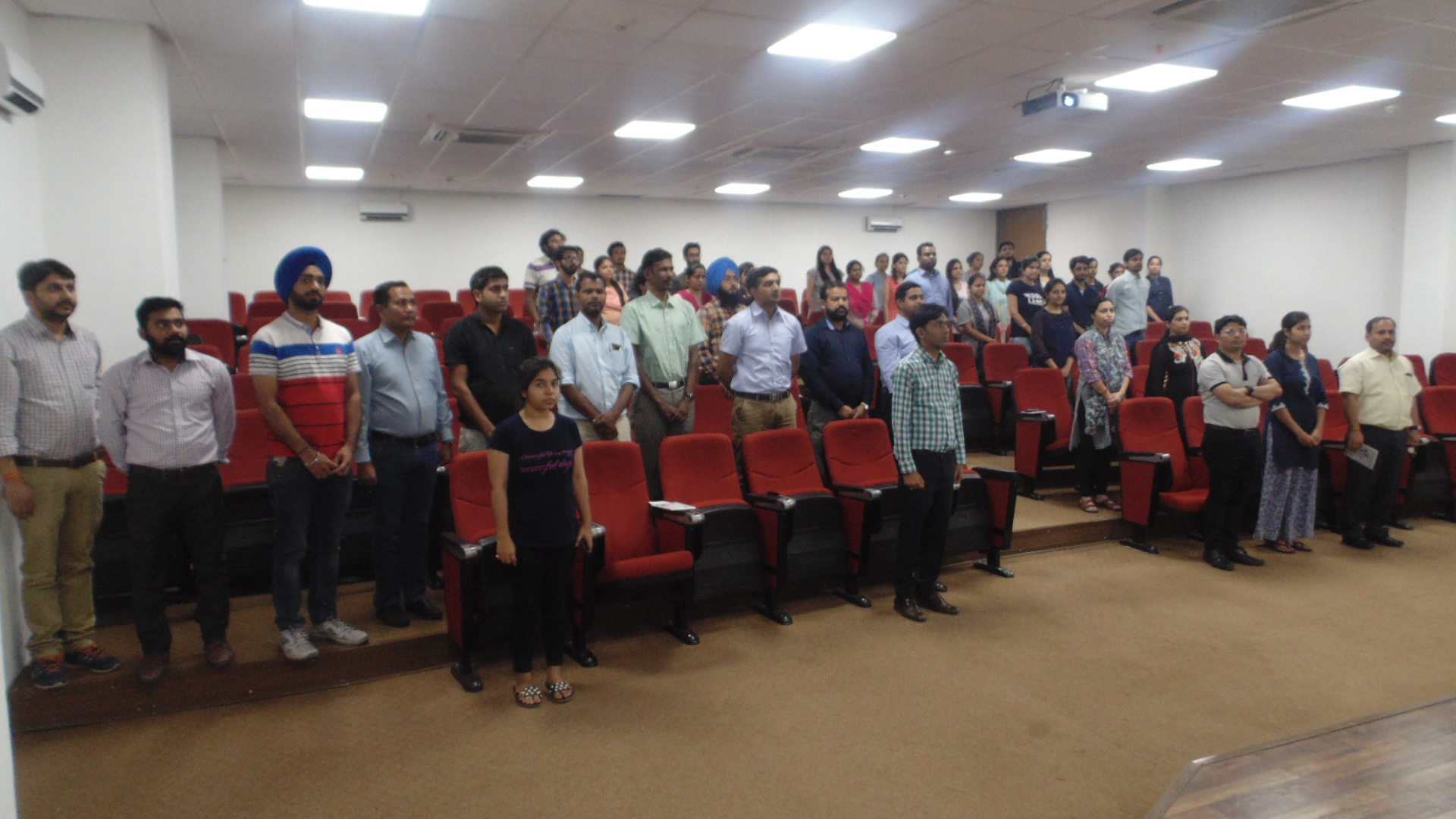 CIAB Mohali observed Anti-terrorism Day on 21-05-2018