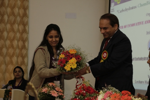 Warm Welcome of Organizing Secretary (Dr. R. S. Sangwan) of CARBO-XXIX